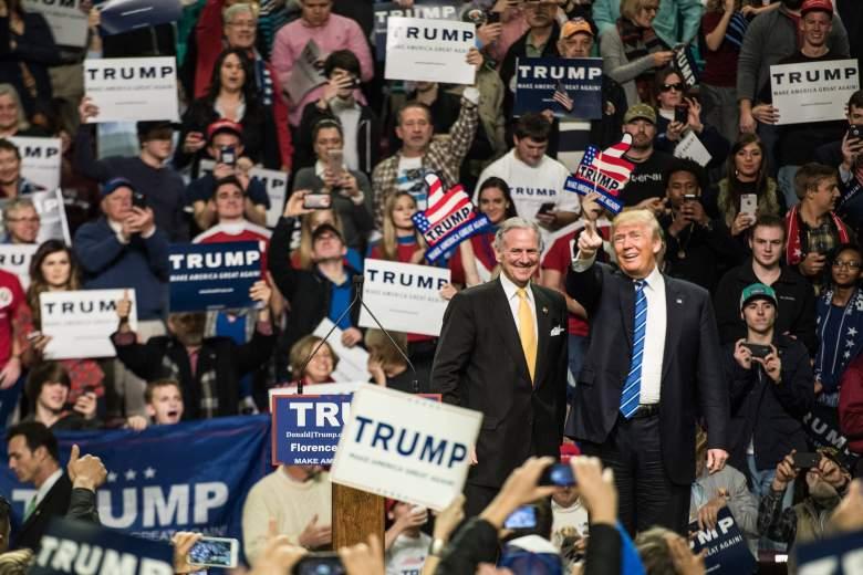 Henry McMaster, Donald Trump Henry McMaster, South Carolina governor