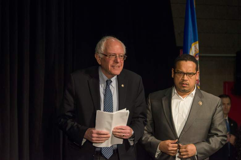 Keith Ellison Bernie Sanders, Keith Ellison Minnesota, Keith Ellison Democratic National Committee