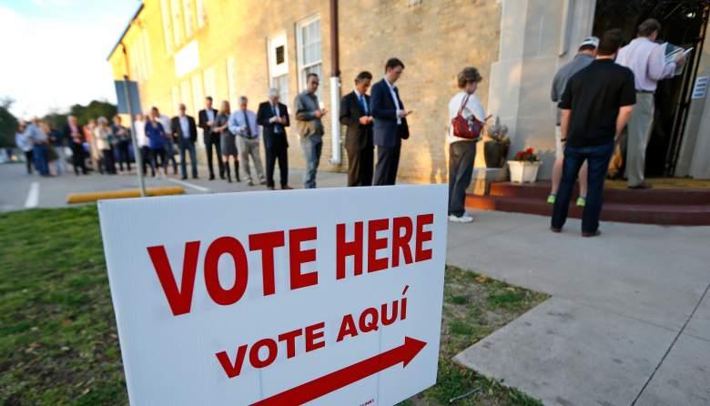 Texas election ballot, Voting in Texas 2016, Texas candidates 2016