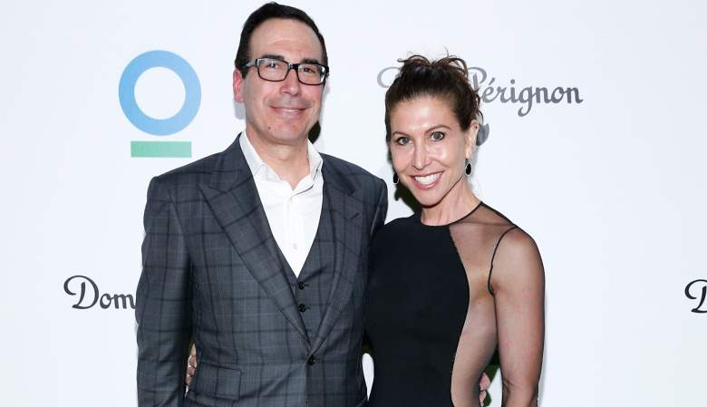 Steven Mnuchin gillian wynn, Steven Mnuchin angeles gala dinner, Steven Mnuchin conservation international