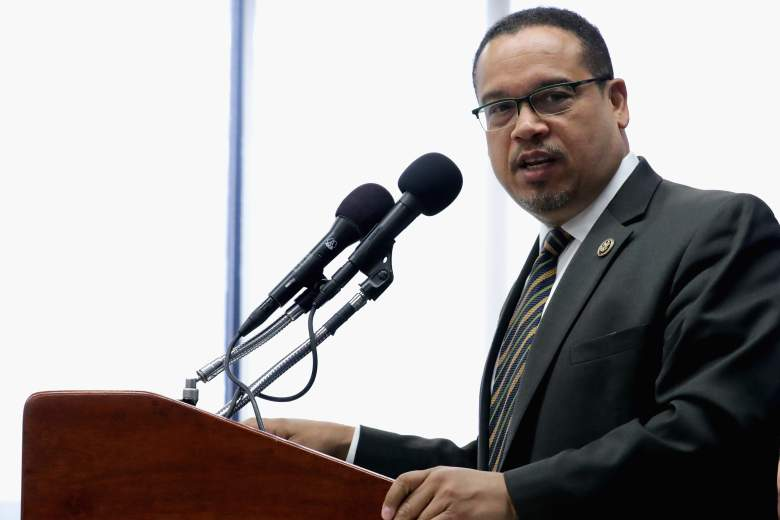 Keith Ellison press conference, Keith Ellison speech, Congressman Keith Ellison
