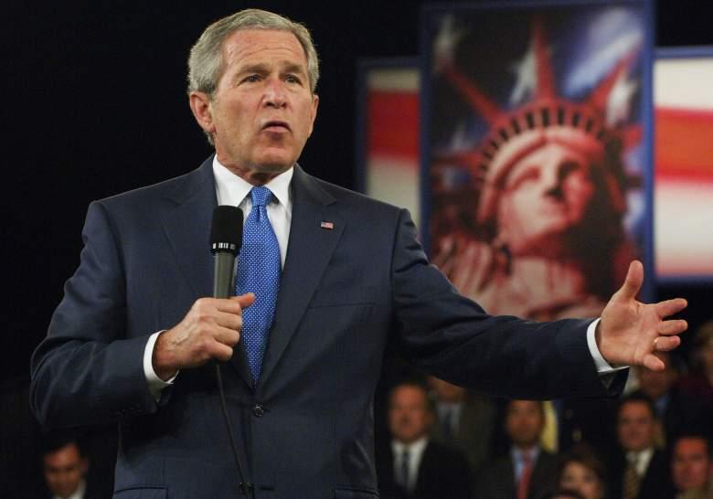 George W Bush 2004, George W Bush speech, George W Bush hytat regency hotel