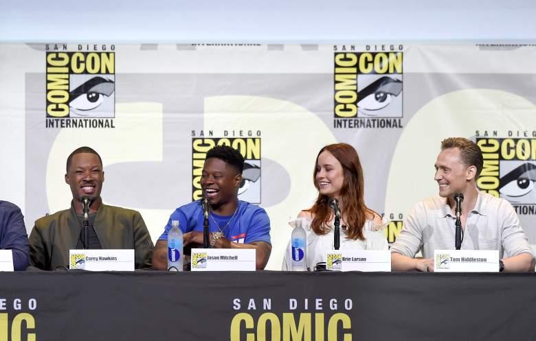 Kong Skull Island cast, Brie Larson Tom Hiddleston, Kong: Skull Island trailer