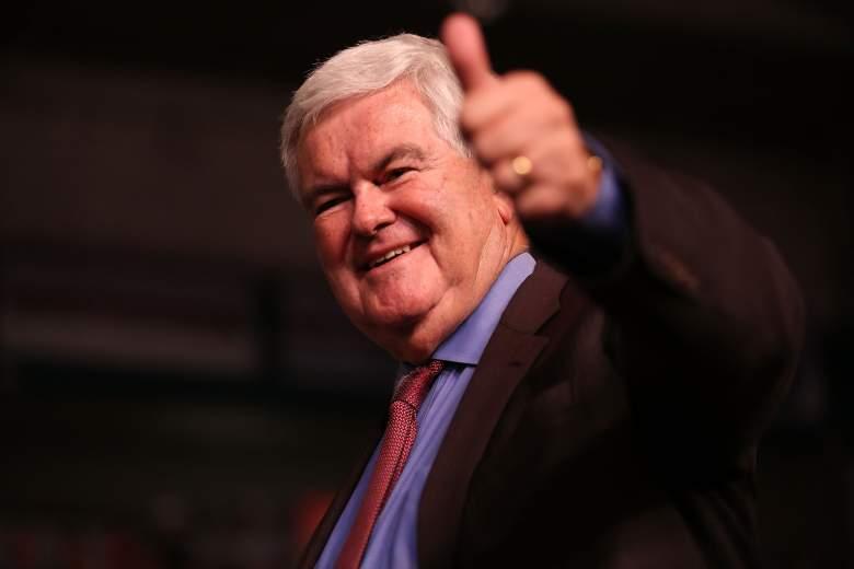 Newt Gingrich, Donald Trump Secretary of State, Donald Trump cabinet