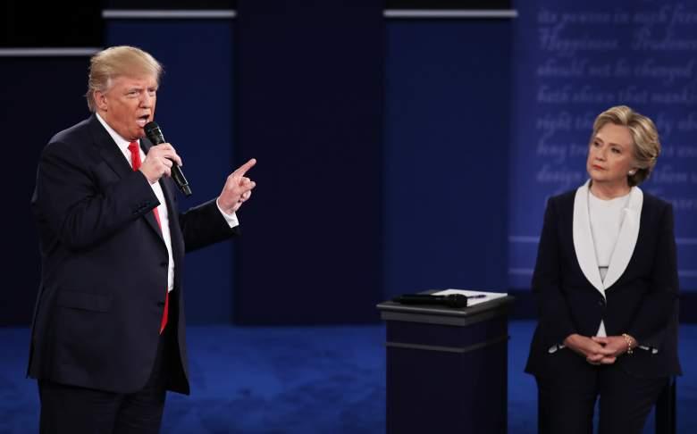 Donald Trump Hillary Clinton debate, second presidential debate, 2016 town hall debate