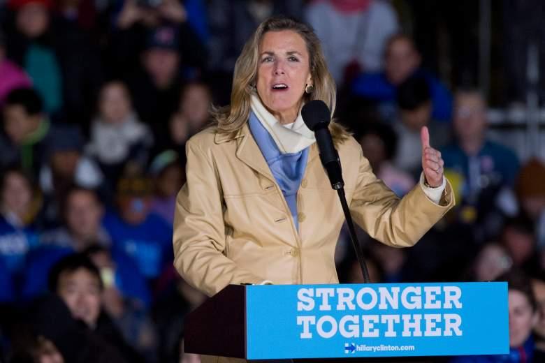 Katie McGinty at Hillary Clinton rally, Hillary Clinton rally in Pennsylvania, Women running for Senate