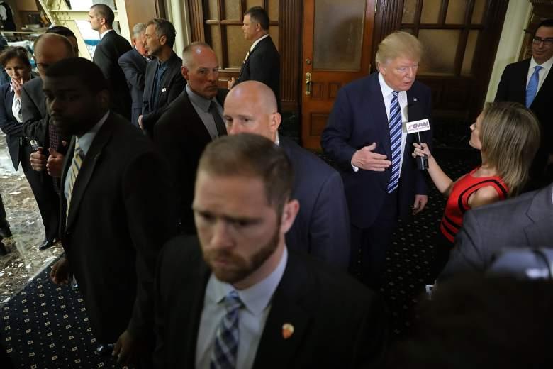 Donald Trump Secret Service, Secret Service agents, Secret Service Trump Hotel