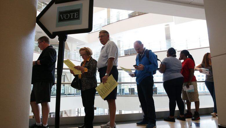 North Carolina voting, North Carolina early voting, winston salem early voting