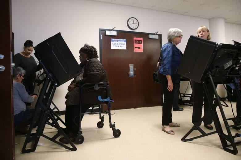 North Carolina election ballot, Voting in North Carolina 2016, North Carolina candidates 2016