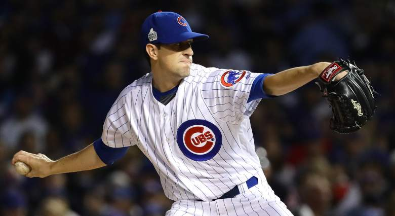 kyle hendricks cubs pitcher bio age height hometown age salary contract