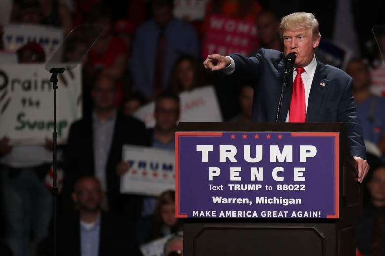 Donald Trump Warren rally, donald trump michigan rally, donald trump Warren speech