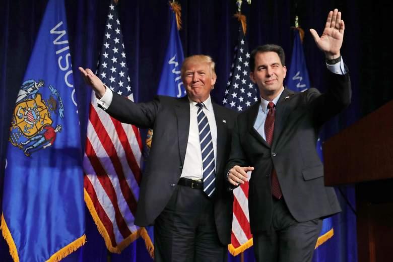 Donald Trump scott walker, Donald Trump wisconsin, Donald Trump scott walker rally