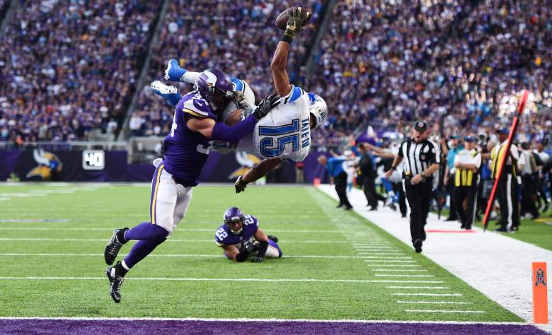 lions vs vikings what when kickoff start time tv channel is the game on today thanksgiving thursday week 12 2016