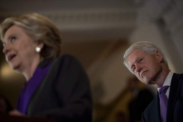 Hillary Clinton concession speech, Hillary Clinton lost, Bill Clinton lost