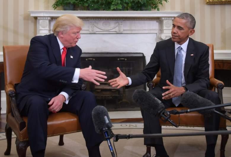 Donald Trump, Donald Trump Barack Obama, Obama Trump handshake
