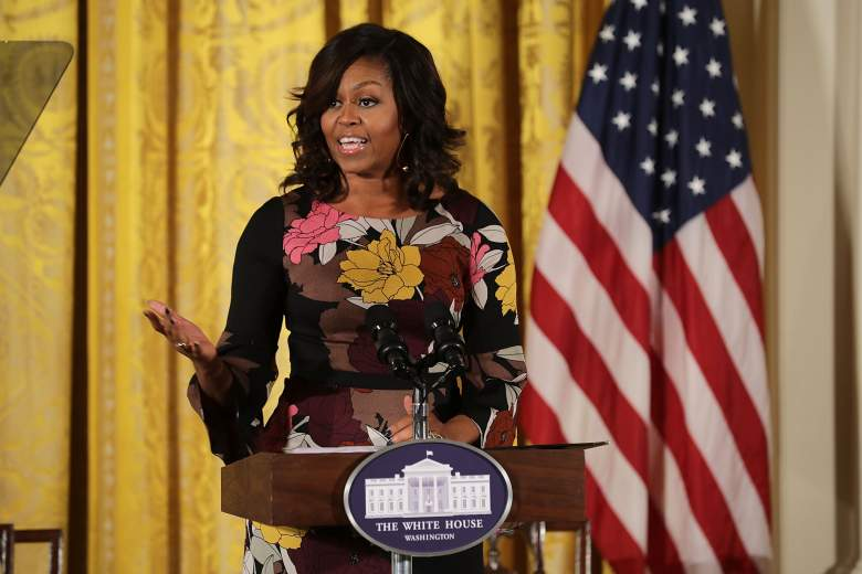"""A West Virginia mayor is under fire for agreeing with another official who called Michelle Obama an """"Ape in heels."""" (Getty)"""