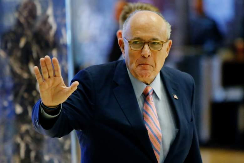 Rudy Giuliani, Trump Secretary of State, Donald Trump cabinet