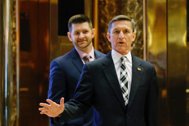 Michael Flynn Trump Tower, Michael Flynn Trump, Michael Flynn son