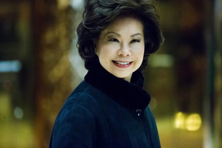 Elaine Chao trump tower, Elaine Chao donald trump, Elaine Chao 2016