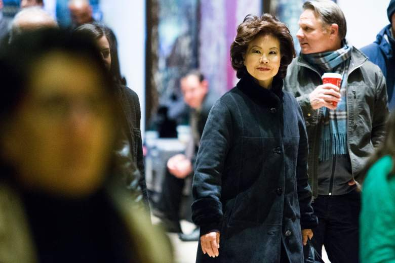 Elaine Chao husband, Mitch McConnell wife, Elaine Chao Donald Trump