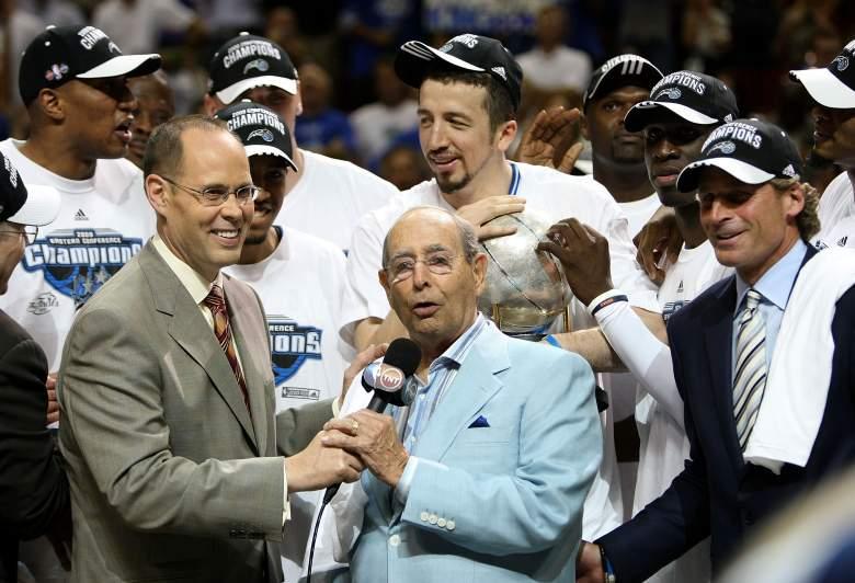 Dick DeVos Orlando Magic, Dick DeVos basketball, Dick DeVos orlando magic team