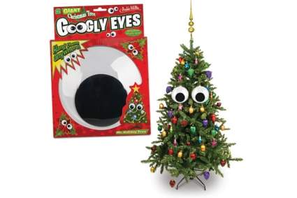 Giant Googly Eyes Tree Ornaments , best unique christmas ornaments