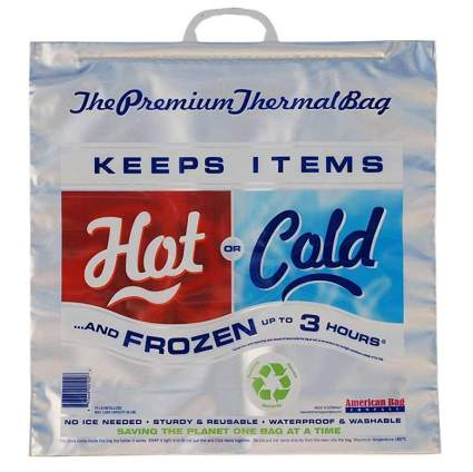 hot cold insulated bags