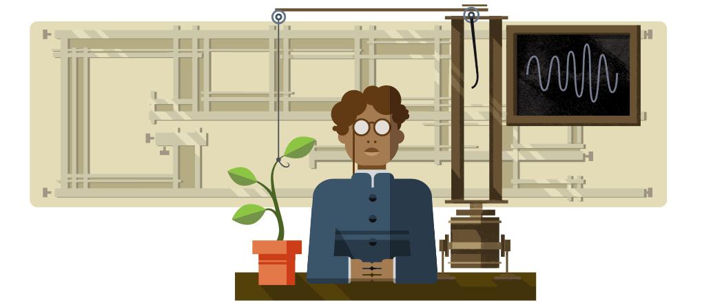 jagadish chandra bose, jagadish chandra bose google doodle