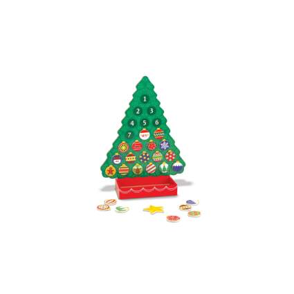 melissa and doug wooden advent calendar