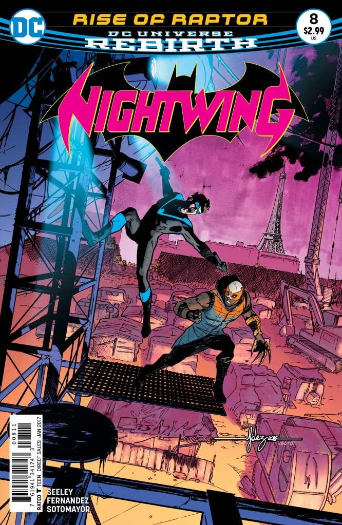 Javi Fernandez, Nightwing 8, DC Comics, Nightwing rebirth