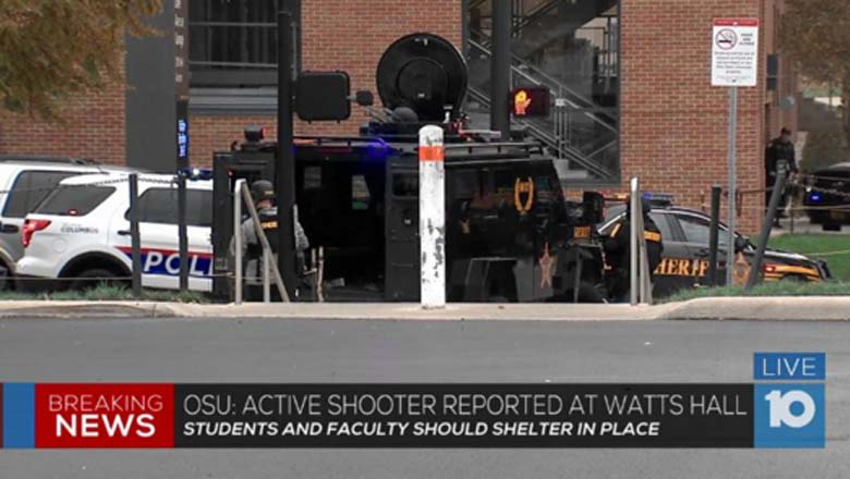 Ohio State University 'Active Shooter'