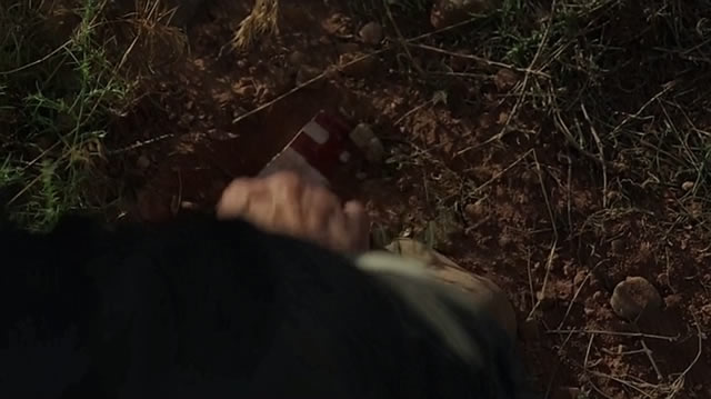 Here's the photo Peter was shown digging up. (HBO/Westworld)