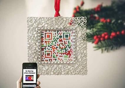 Christmas QR Code Ornament