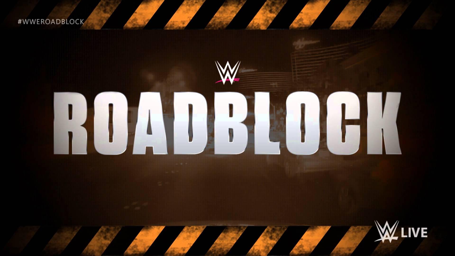 WWE Roadblock End of the Line
