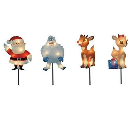 Rudolph The Red-Nosed Reindeer Pre-Lit Christmas PathwayMarkers