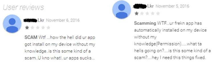 Gooligan Scam