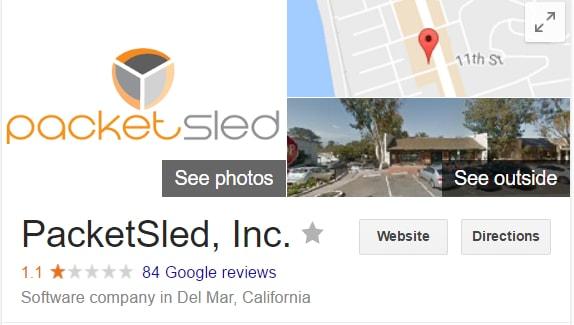 PacketSled reviews, PacketSled one star reviews, PacketSled donald trump