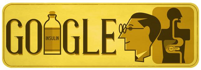 Frederick Banting, World Diabetes Day, Frederick Banting Google Doodle