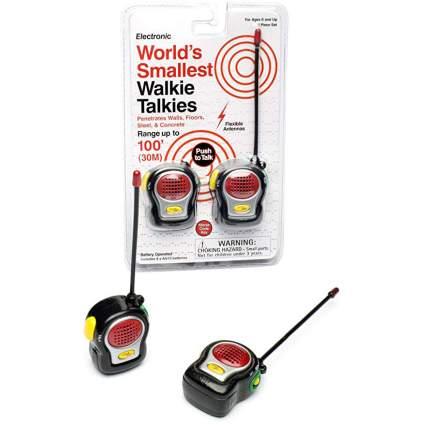 Westminster smallest walkie talkie