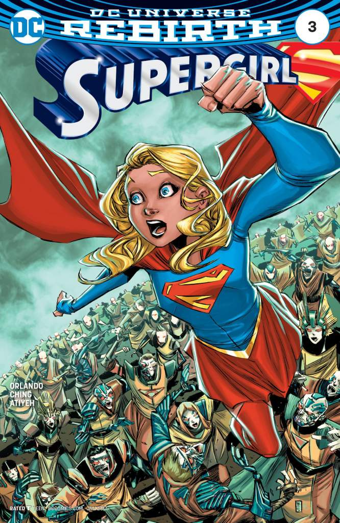 DC Comics, Brian Ching, Supergirl Rebirth, new Supergirl issues