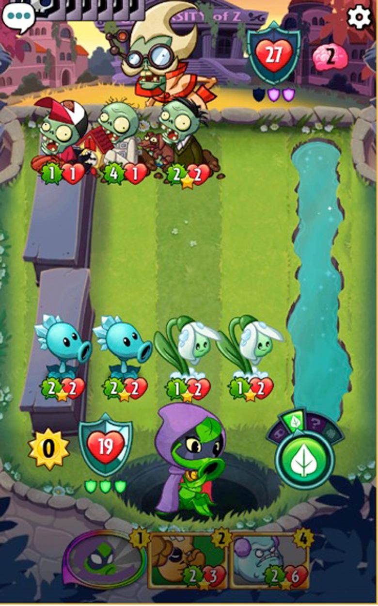 Plants vs Heroes Zombies