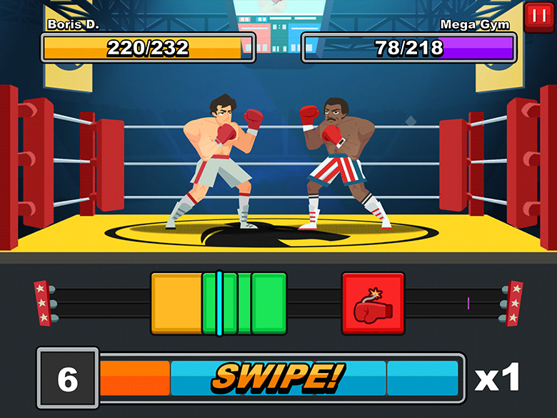 Rocky Mobile Game