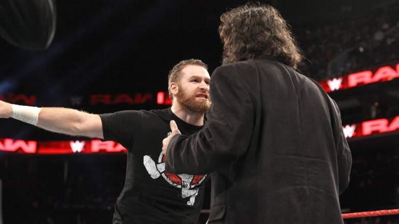 Sami Zayn Mick Foley, Sami Zayn Monday Night Raw, Sami Zayn Mick Foley feud