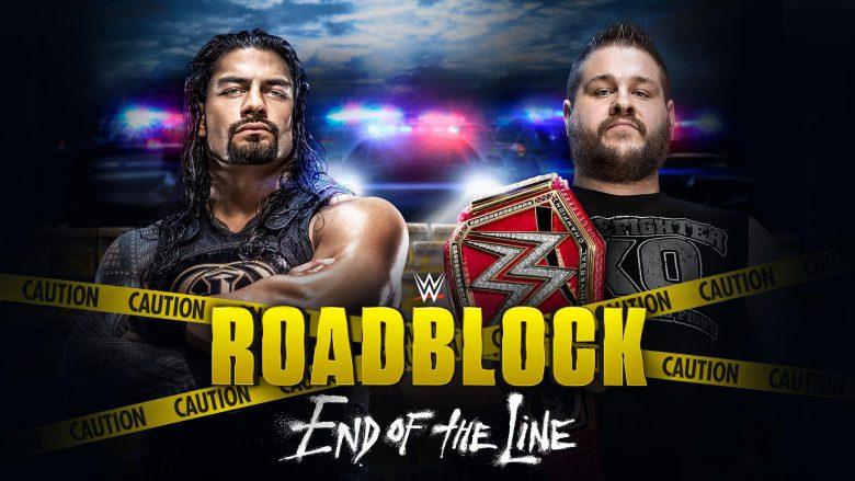 WWE Roadblock, WWE Roadblock end of the line, roadblock end of the line reigns owens