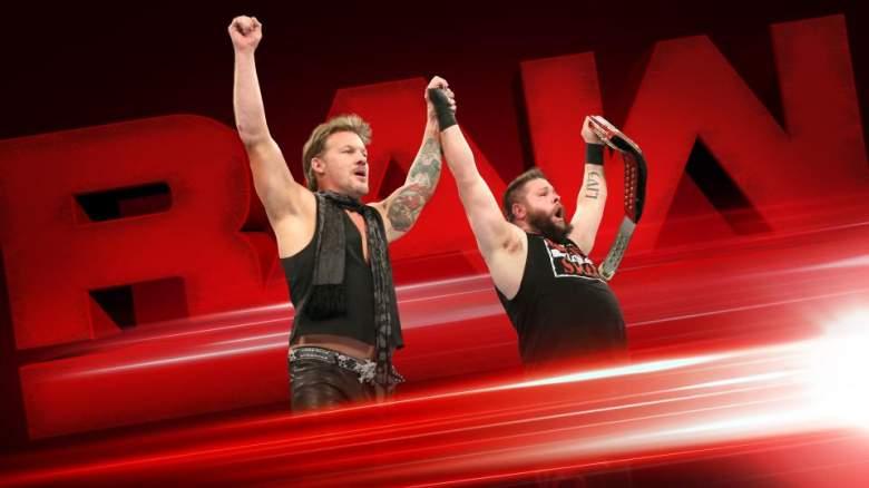 WWE Monday Night Raw, monday night raw kevin owens, kevin owens chris jericho