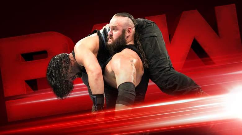 Monday Night Raw Braun Strowman, Monday Night Raw braun strowman, wwe raw