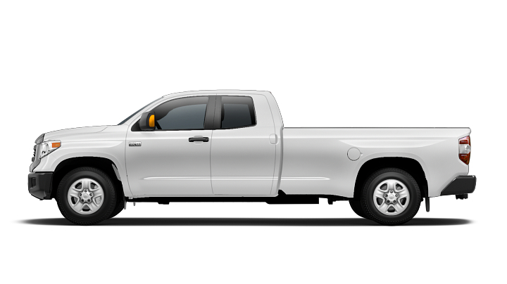 The Double Cab, 8.1-foot Bed may look awkward, but when you need the longest bed offered and two rows of seating, it is a great option.