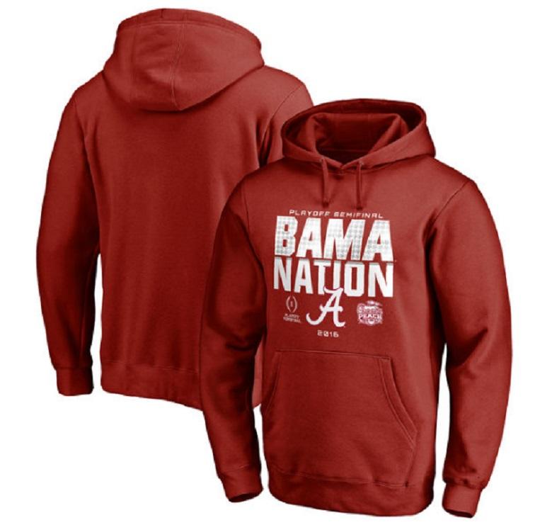 alabama crimson peach bowl champion cfp title gear apparel 2016 shirts hoodies hats