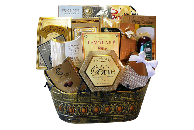 gourmet gift baskets, food gifts, cheese gift basket