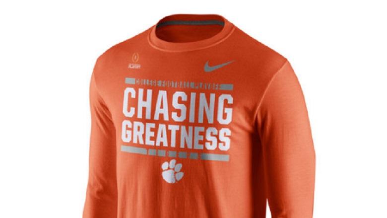 Clemson Tigers College Football Playoff Gear & Apparel 2016 ...